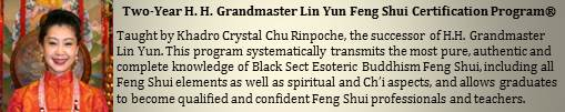 Two-Year Grandmaster Lin Yun Feng Shui Certification Program