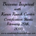 Karen Rauch Carter, Academy of Exquisite Living