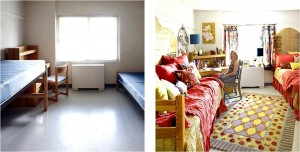 Feng Shui Dorm Room Before and After