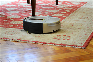Robot vacuum, space clearing, Karen Kingston