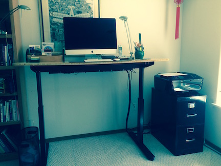 A Stand Desk by Sugeet