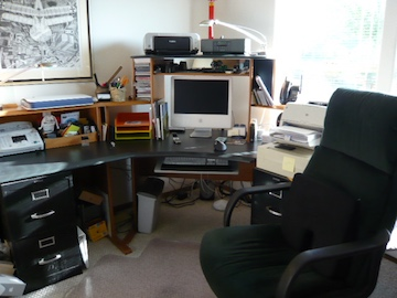 A Stand Desk, by Sugeet