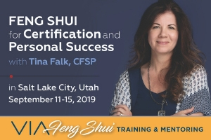 VIA Feng Shui and Tina Falk, September 2019