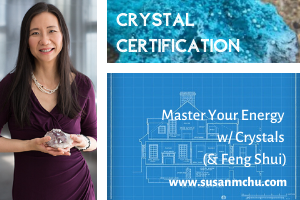 Susan Chu Crystal Certification